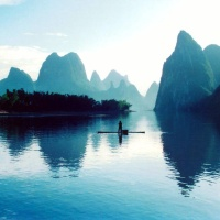 In mood for Guilin - China