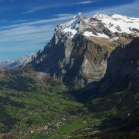 Beautiful Grindelwald Bern Switzerland